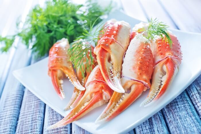питание морепродуктами