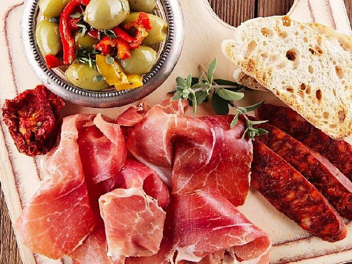 продукты питания мясо